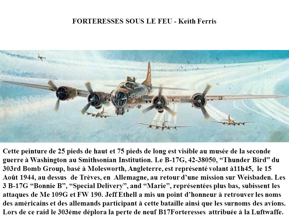 FORTERESSES SOUS LE FEU - Keith Ferris