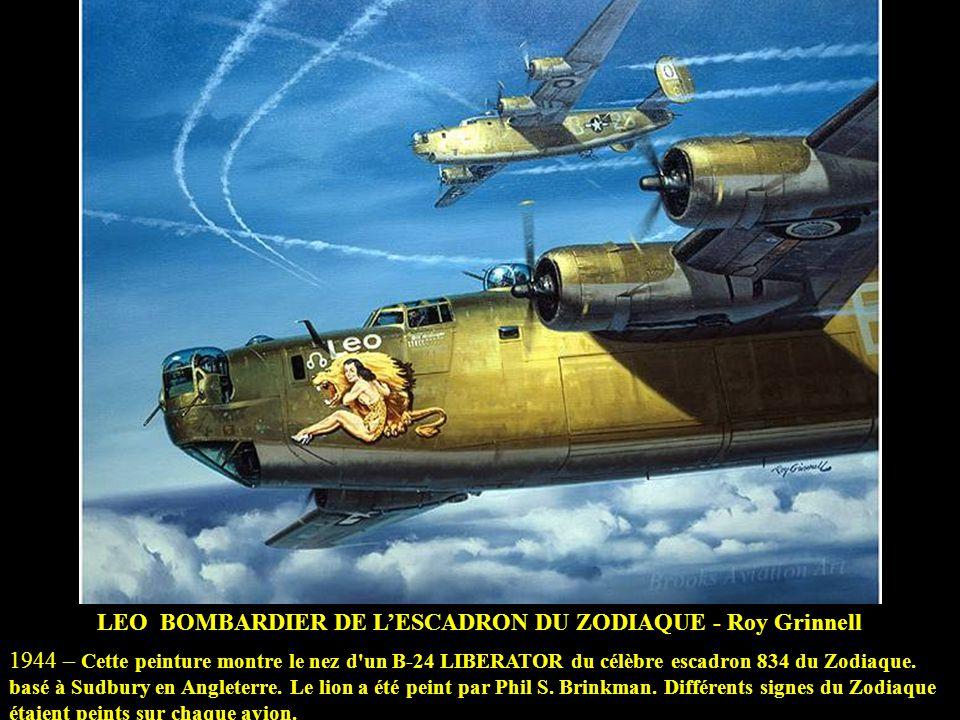 LEO BOMBARDIER DE L'ESCADRON DU ZODIAQUE - Roy Grinnell