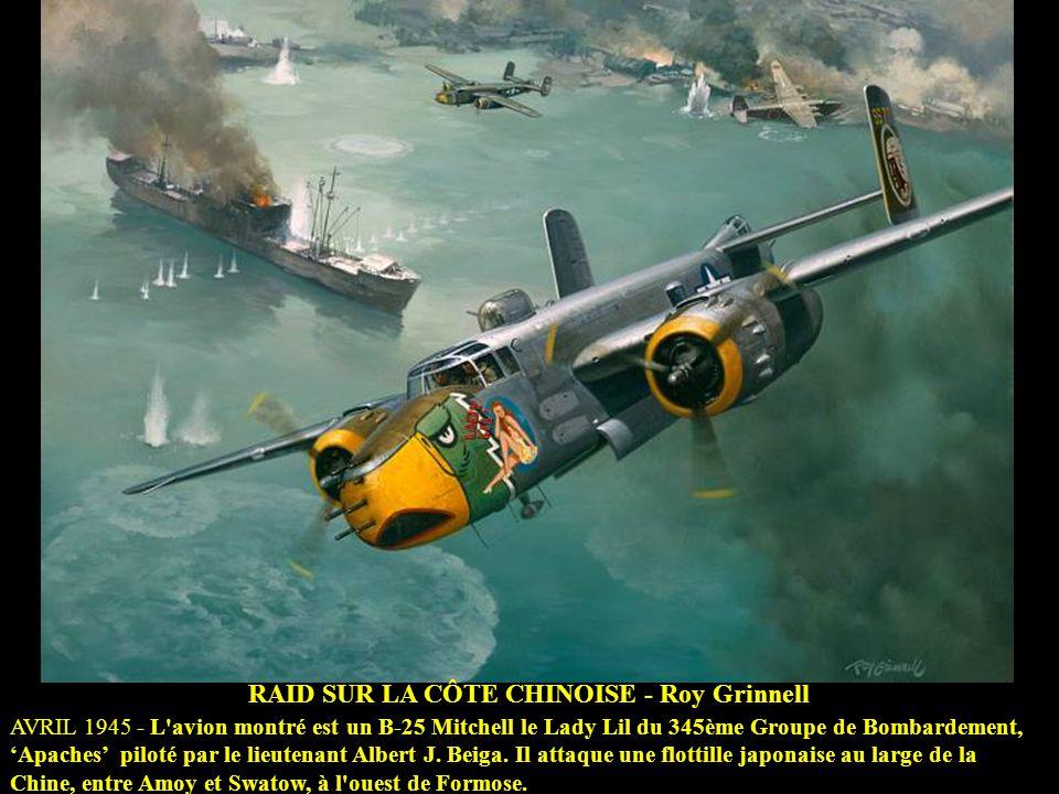 RAID SUR LA CÔTE CHINOISE - Roy Grinnell