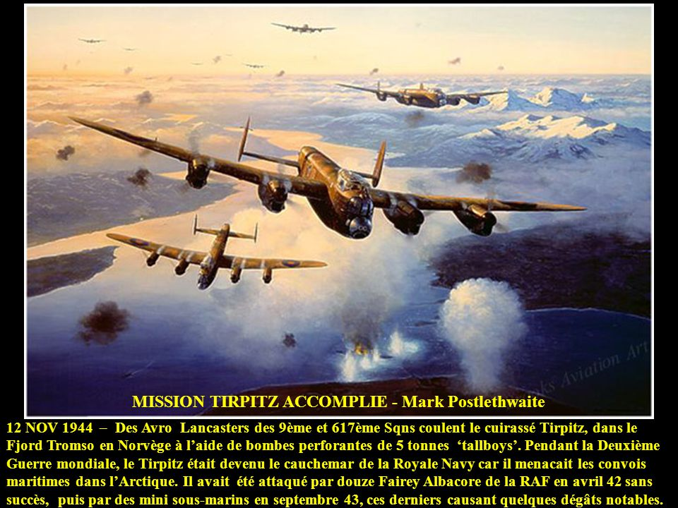 MISSION TIRPITZ ACCOMPLIE - Mark Postlethwaite