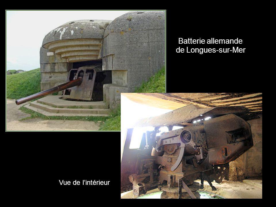 Batterie allemande de Longues-sur-Mer
