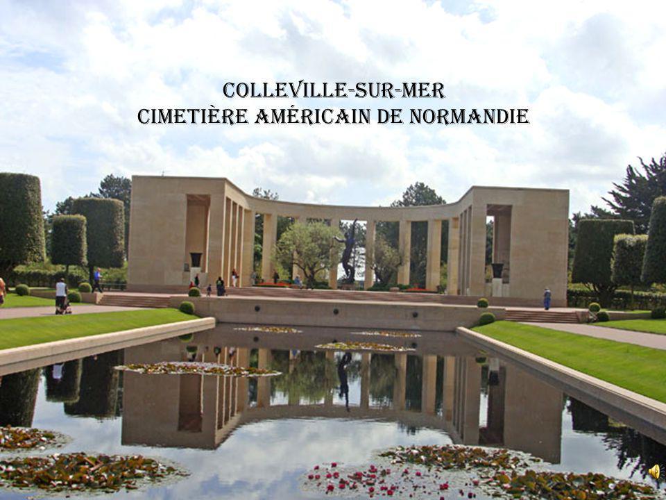 Colleville-sur-Mer cimetière américain de Normandie