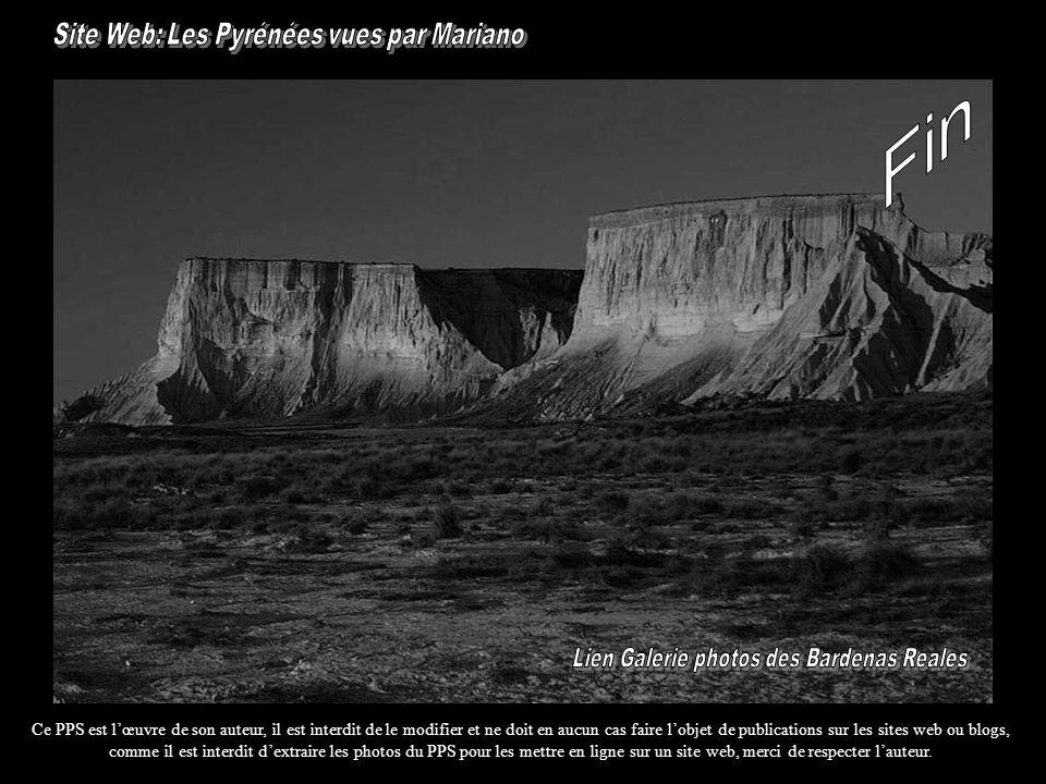 Fin Site Web: Les Pyrénées vues par Mariano