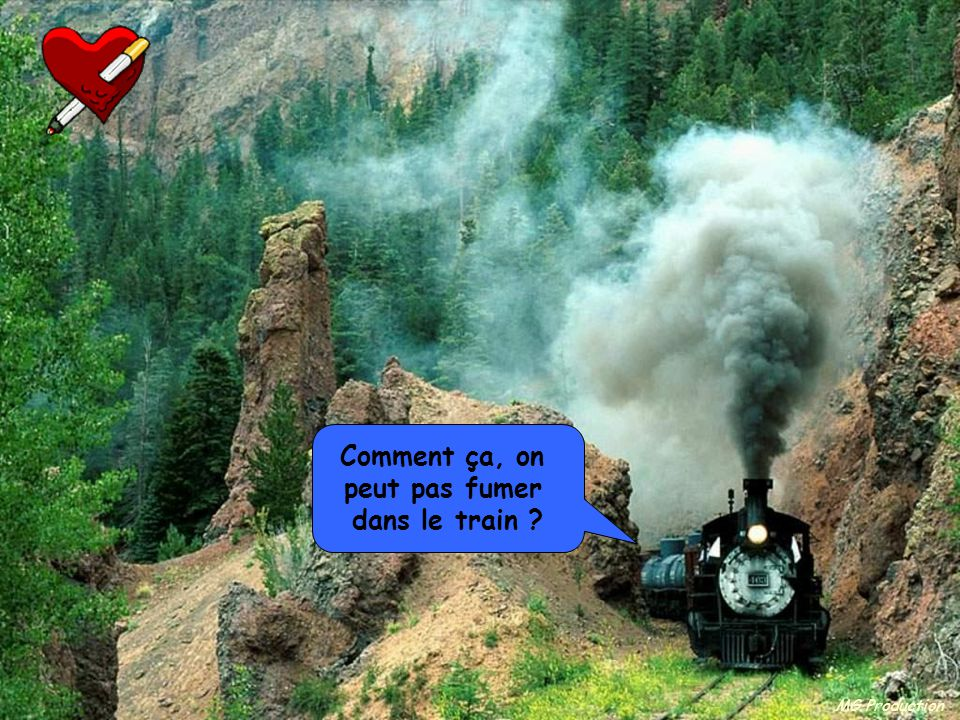 Comment ça, on peut pas fumer dans le train