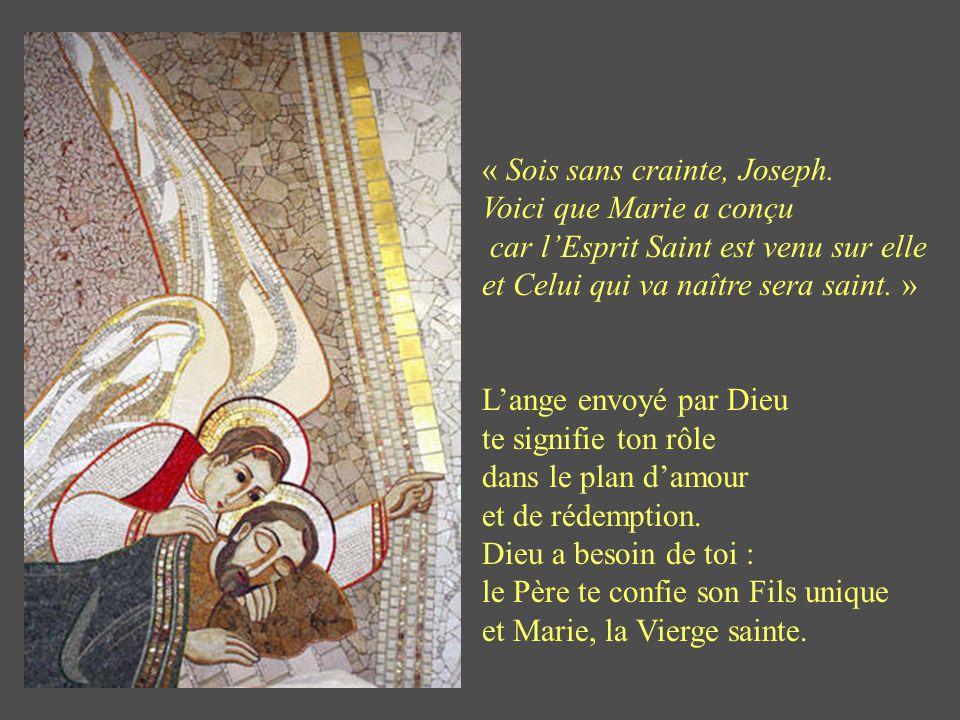 « Sois sans crainte, Joseph