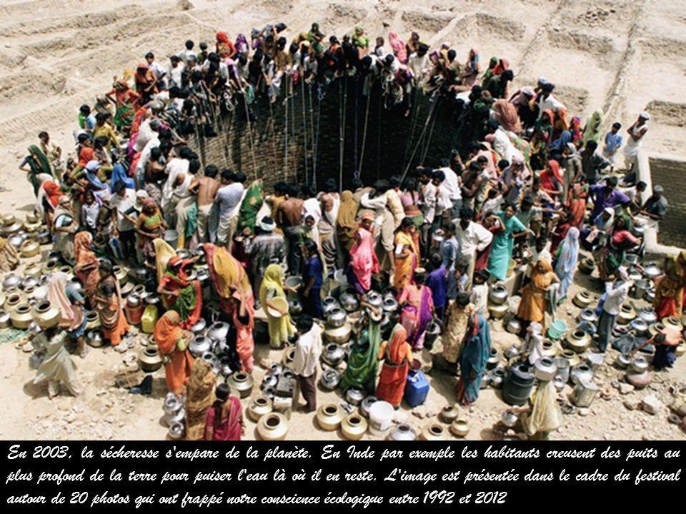 En 2003, la sécheresse s empare de la planète