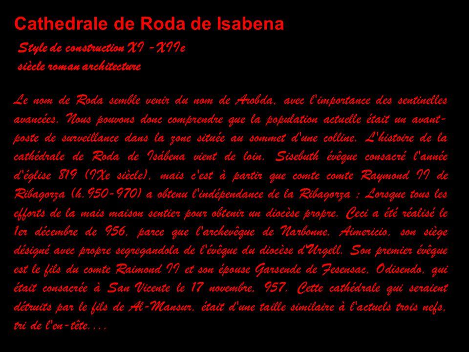 Cathedrale de Roda de Isabena