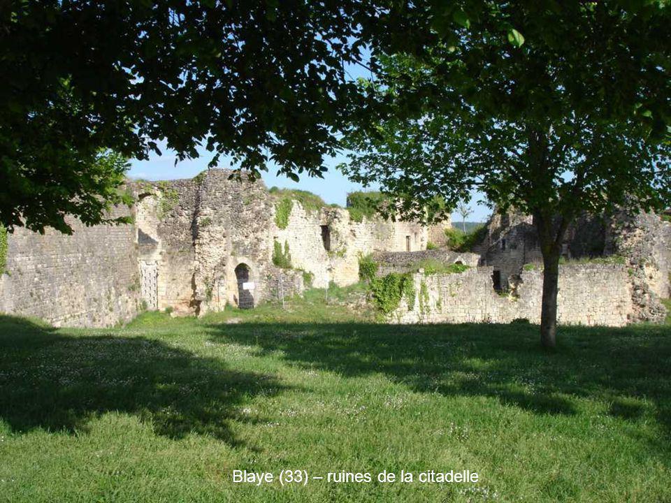 Blaye (33) – ruines de la citadelle