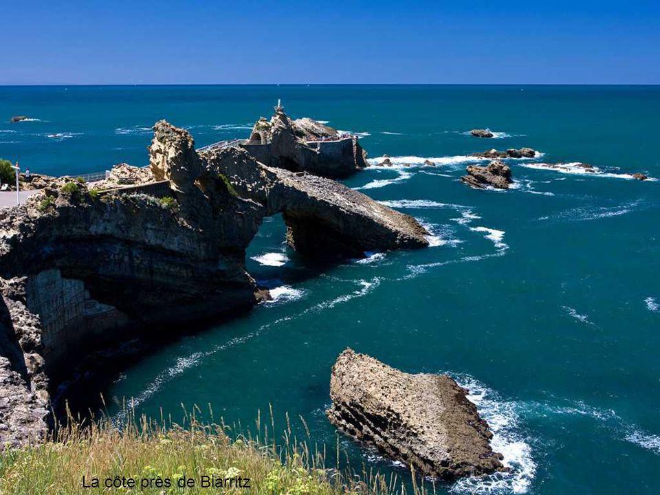 La côte près de Biarritz