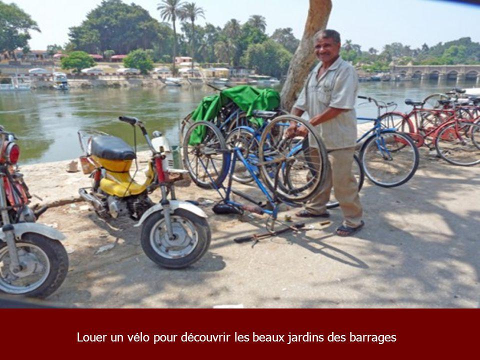 Louer un vélo pour découvrir les beaux jardins des barrages