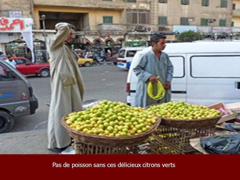Pas de poisson sans ces délicieux citrons verts