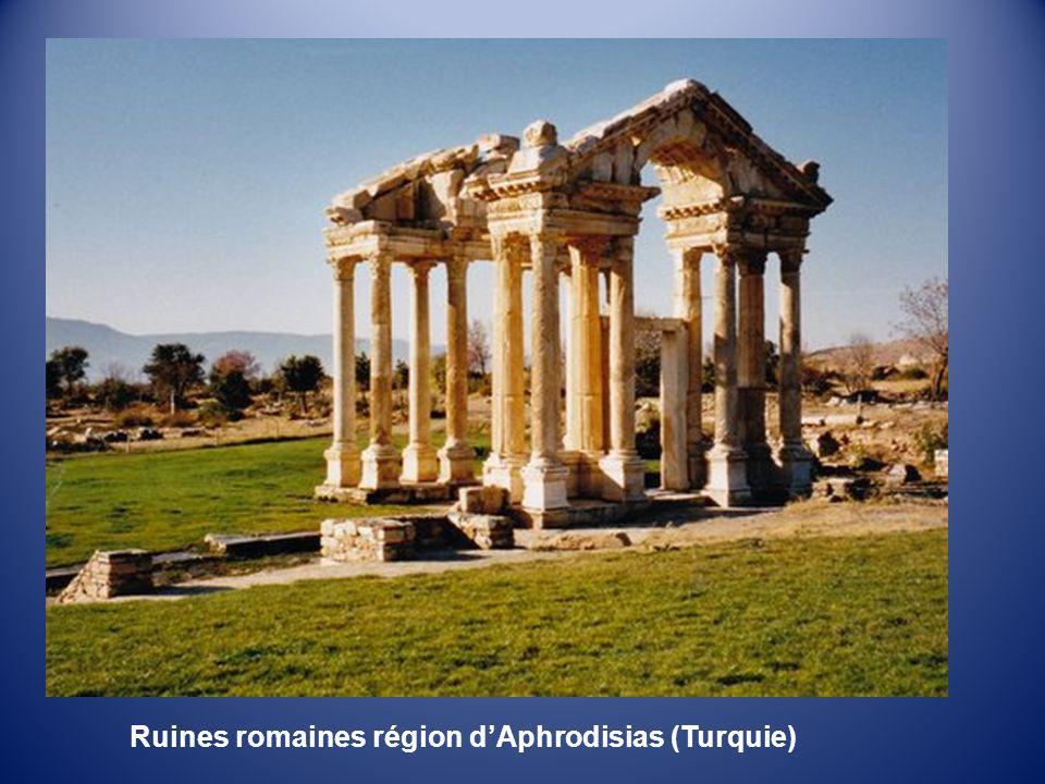 Ruines romaines région d'Aphrodisias (Turquie)