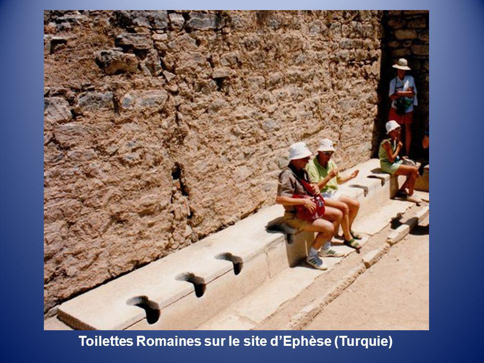 Toilettes Romaines sur le site d'Ephèse (Turquie)