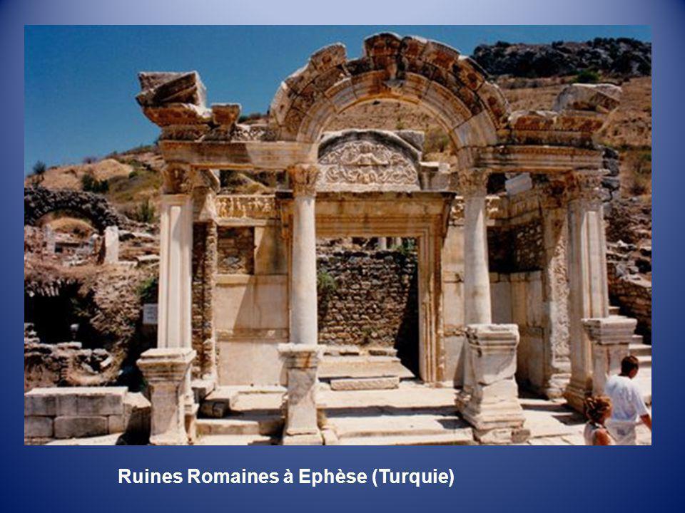 Ruines Romaines à Ephèse (Turquie)