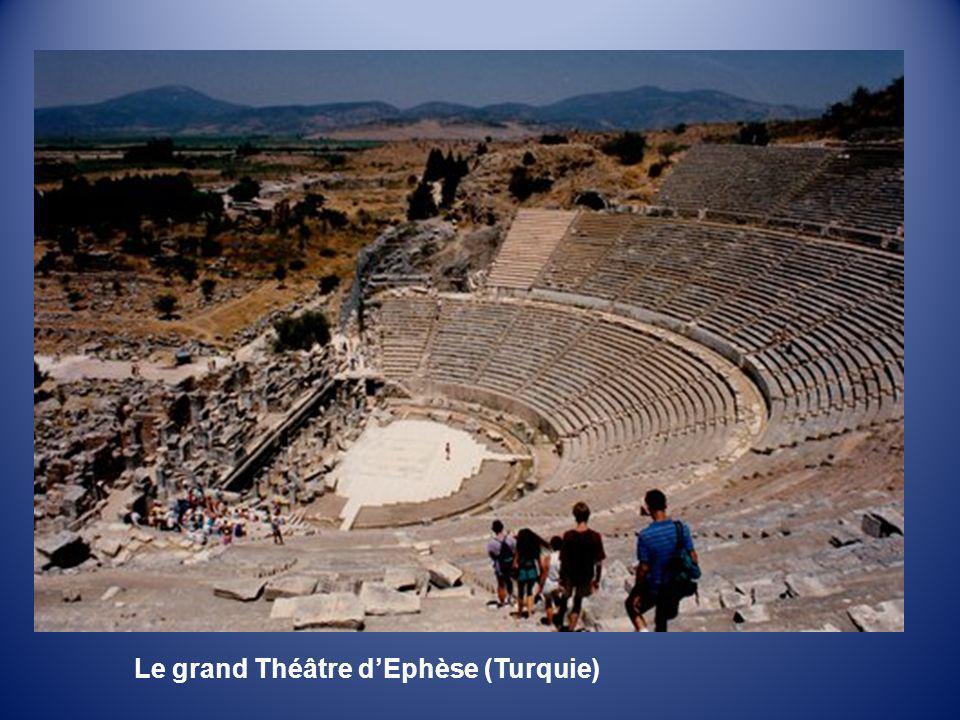 Le grand Théâtre d'Ephèse (Turquie)