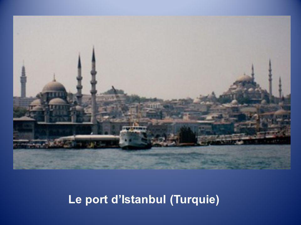 Le port d'Istanbul (Turquie)