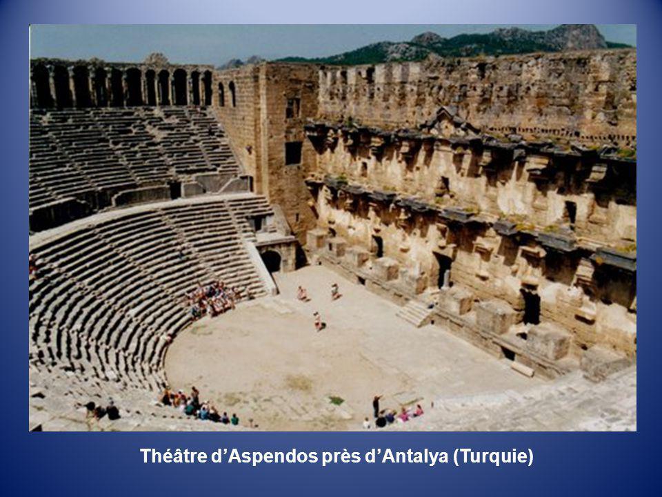 Théâtre d'Aspendos près d'Antalya (Turquie)