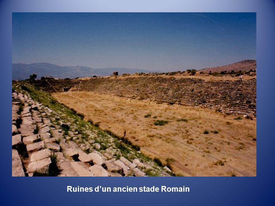 Ruines d'un ancien stade Romain