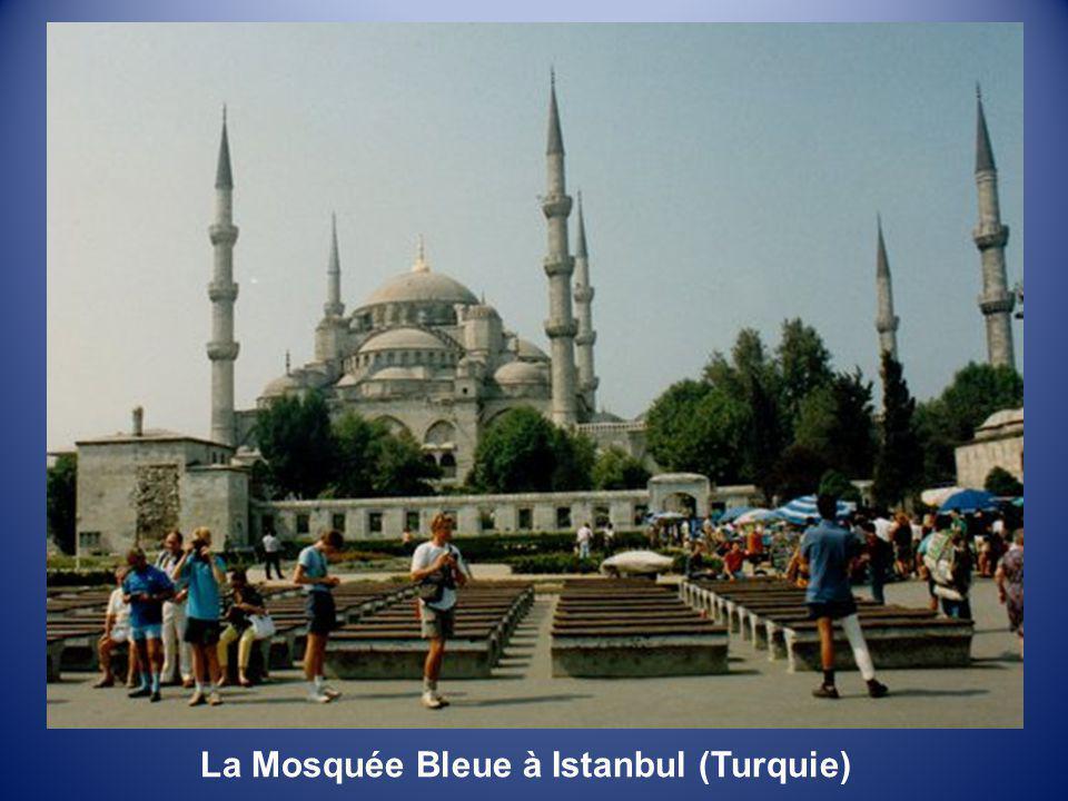La Mosquée Bleue à Istanbul (Turquie)