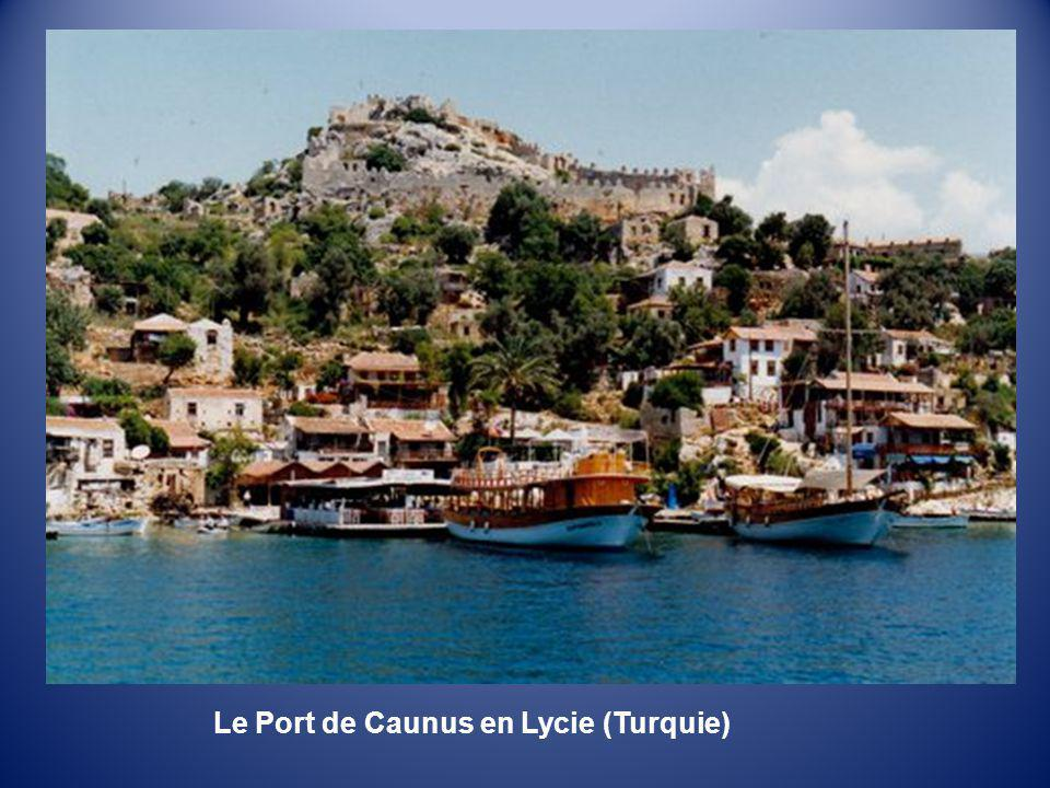Le Port de Caunus en Lycie (Turquie)