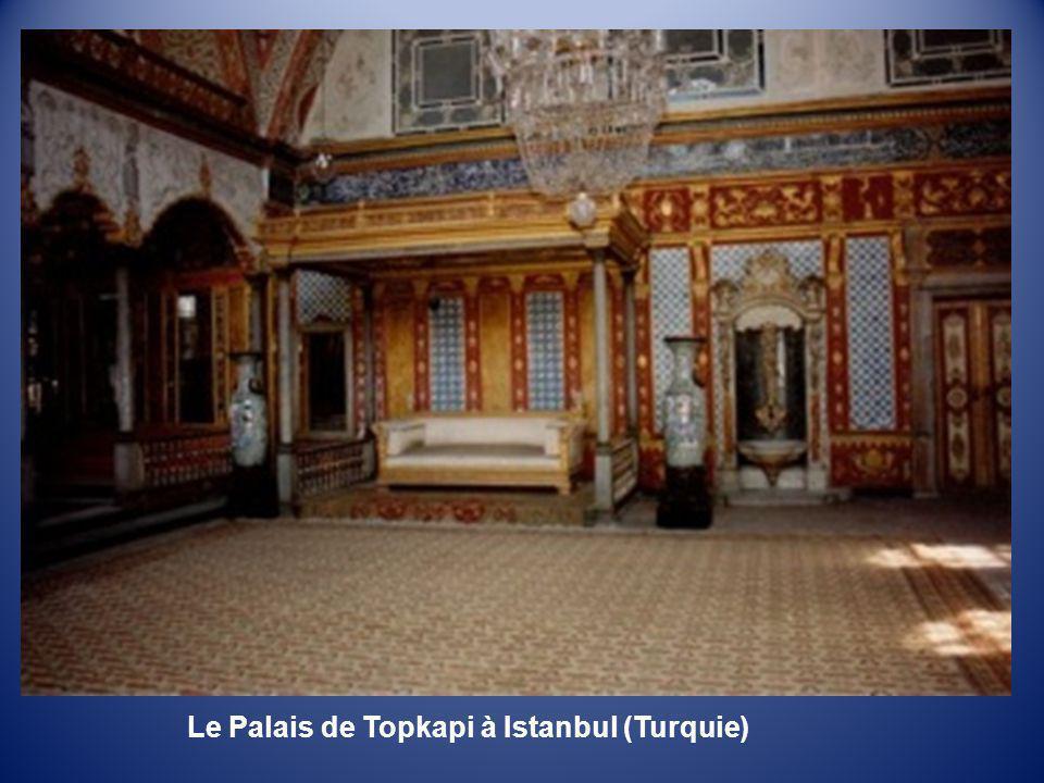 Le Palais de Topkapi à Istanbul (Turquie)