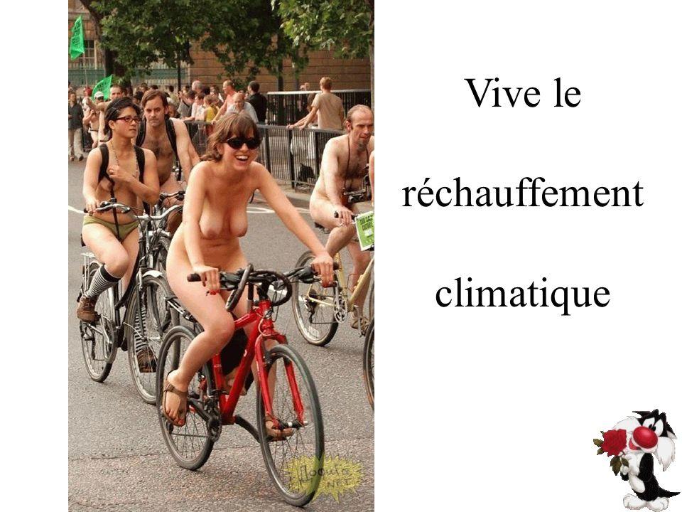 Vive le réchauffement climatique