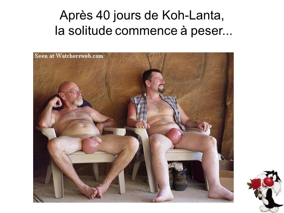 Après 40 jours de Koh-Lanta, la solitude commence à peser...