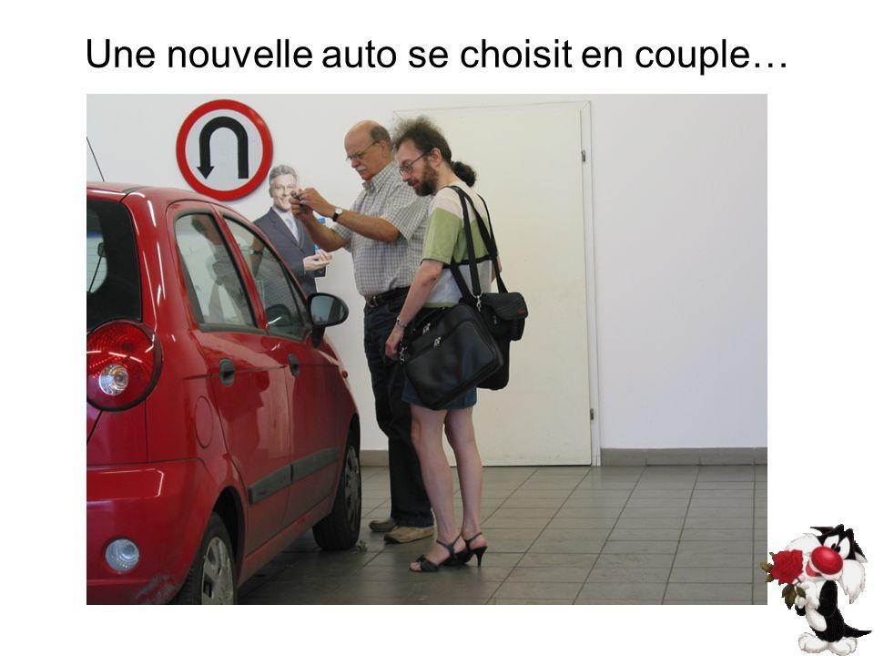Une nouvelle auto se choisit en couple…