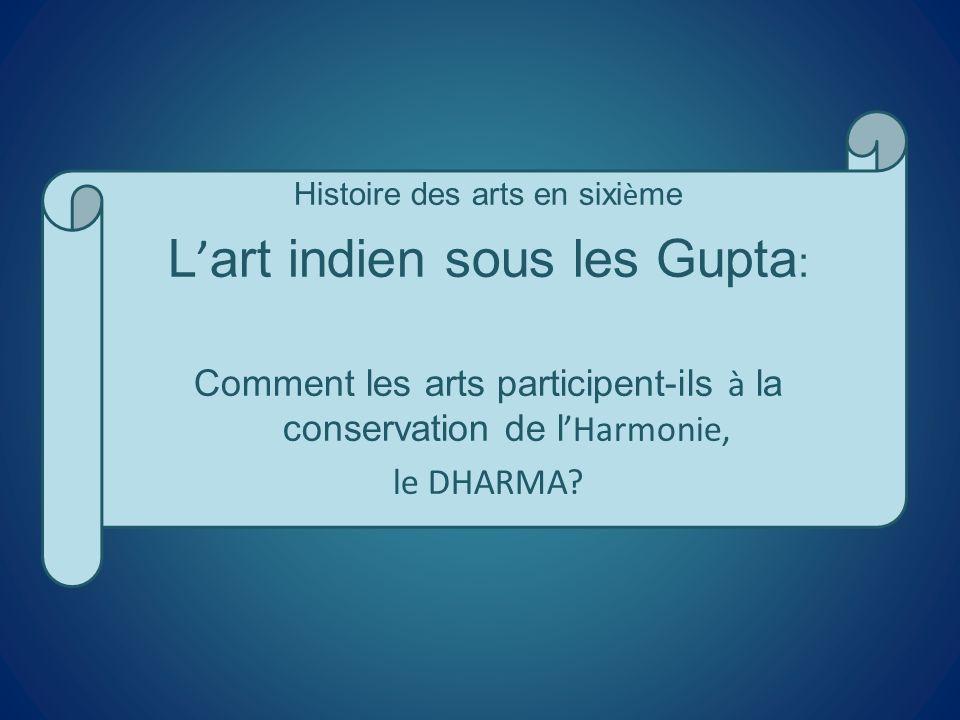 L'art indien sous les Gupta: