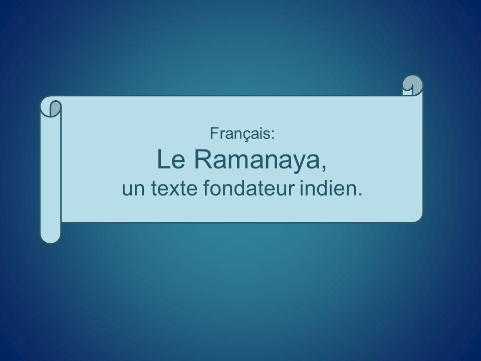 un texte fondateur indien.