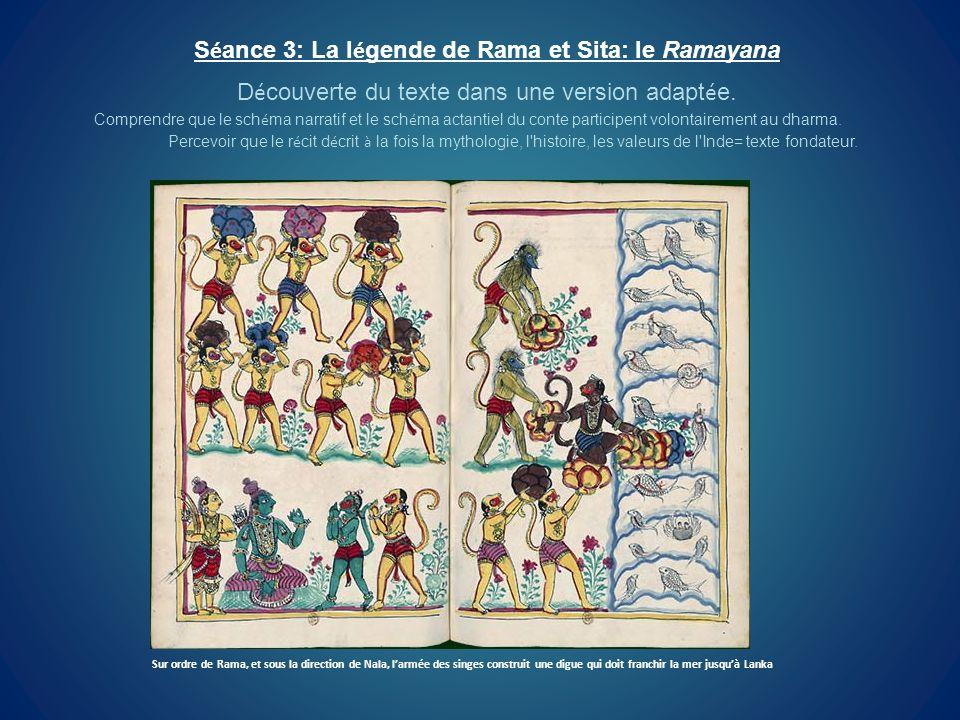 Séance 3: La légende de Rama et Sita: le Ramayana
