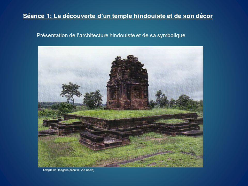 Séance 1: La découverte d'un temple hindouiste et de son décor