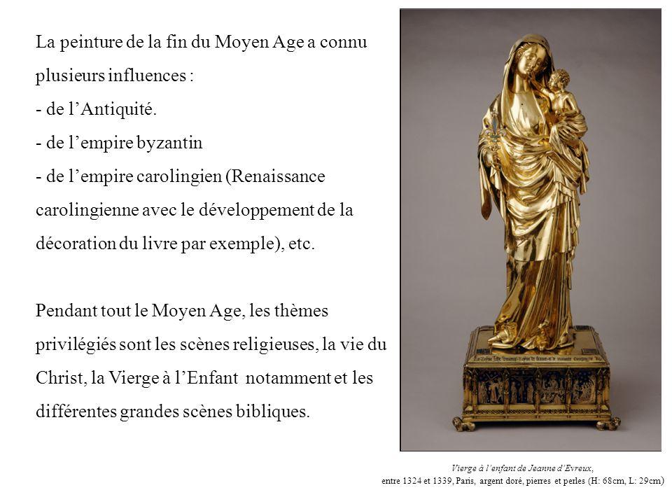Vierge à l'enfant de Jeanne d'Evreux,