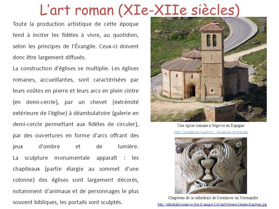 L'art roman (XIe-XIIe siècles)