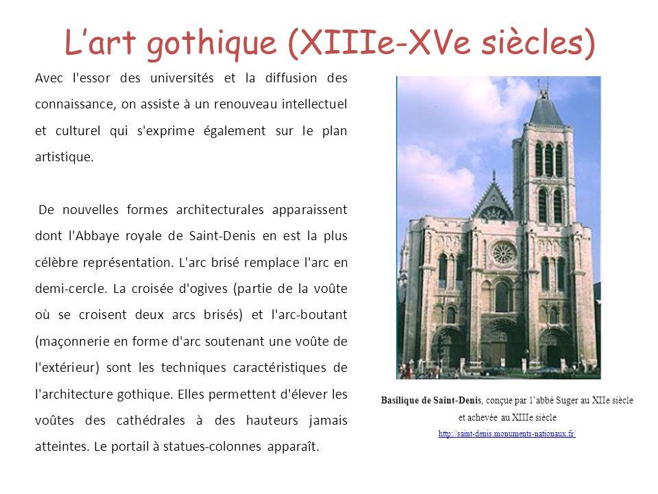L'art gothique (XIIIe-XVe siècles)
