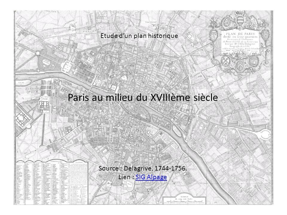 Paris au milieu du XVIIIème siècle