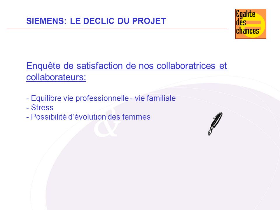 Enquête de satisfaction de nos collaboratrices et collaborateurs: