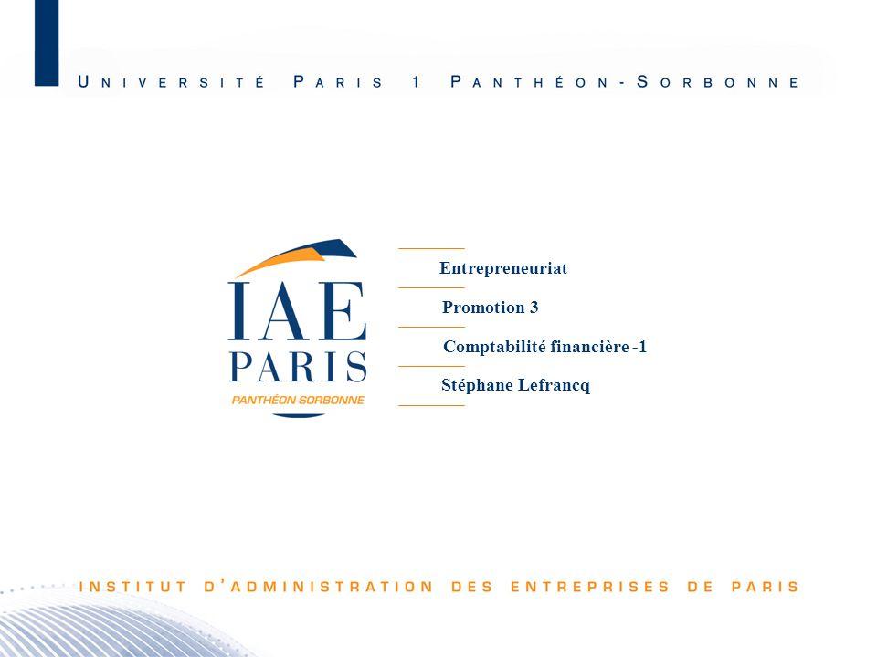 Comptabilité financière -1