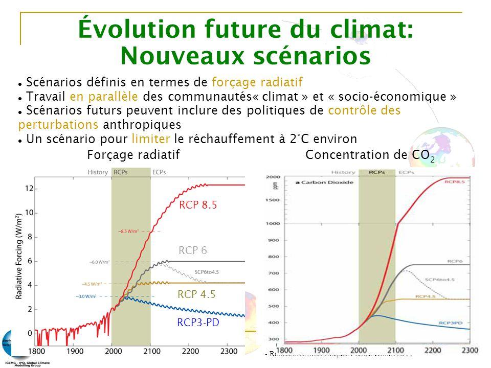 Évolution future du climat: