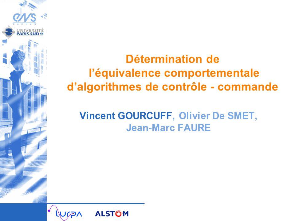 Vincent GOURCUFF, Olivier De SMET, Jean-Marc FAURE