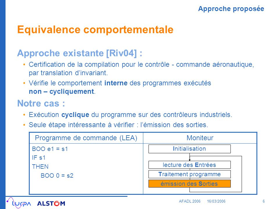 Equivalence comportementale