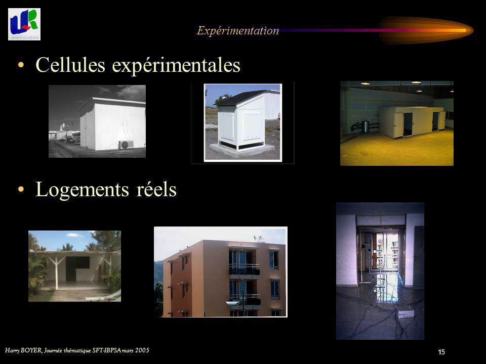 Cellules expérimentales