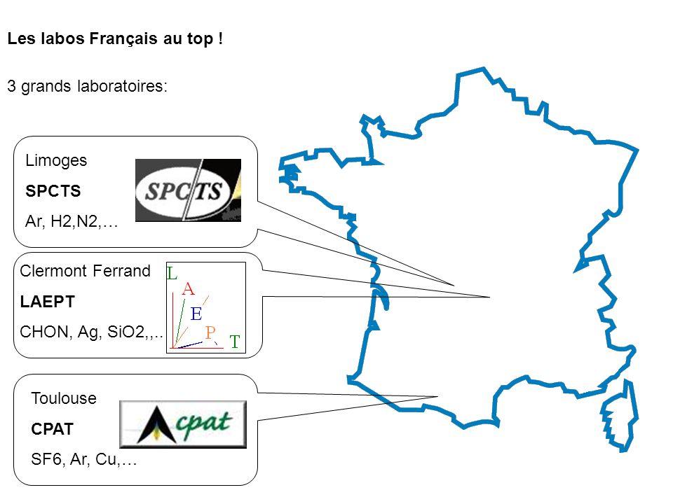 Les labos Français au top !