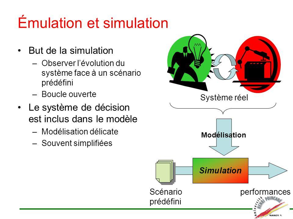 Émulation et simulation