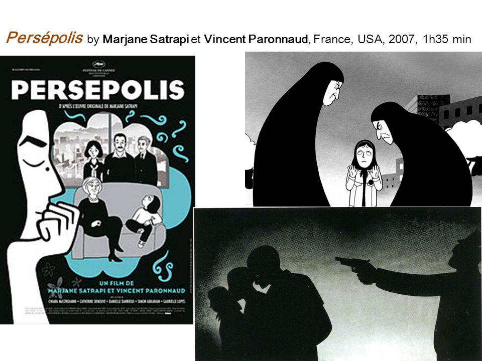 Persépolis by Marjane Satrapi et Vincent Paronnaud, France, USA, 2007, 1h35 min