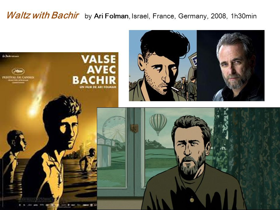 Waltz with Bachir by Ari Folman, Israel, France, Germany, 2008, 1h30min