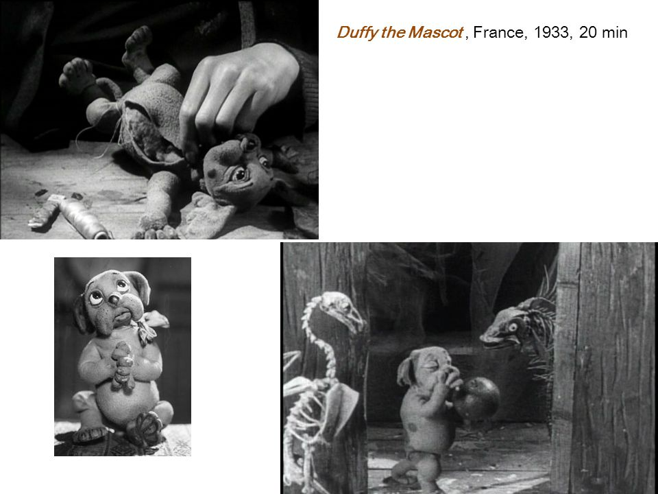 Duffy the Mascot , France, 1933, 20 min