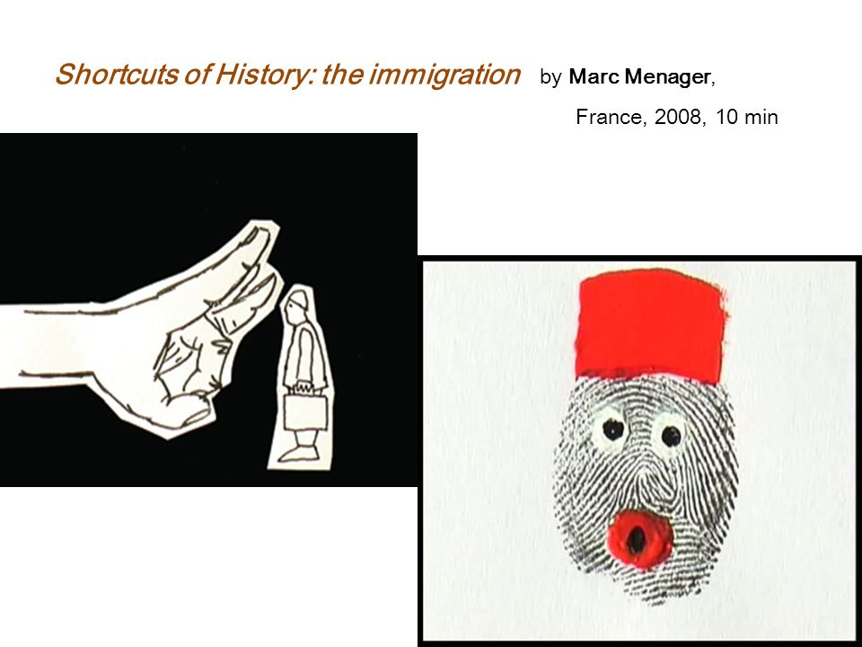 Shortcuts of History: the immigration by Marc Menager,