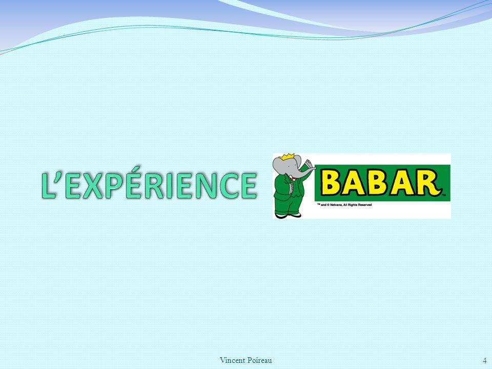 L'expérience BaBar Vincent Poireau