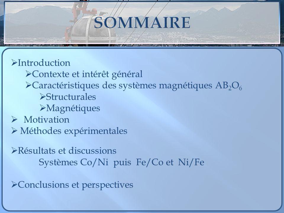 SOMMAIRE Introduction Contexte et intérêt général